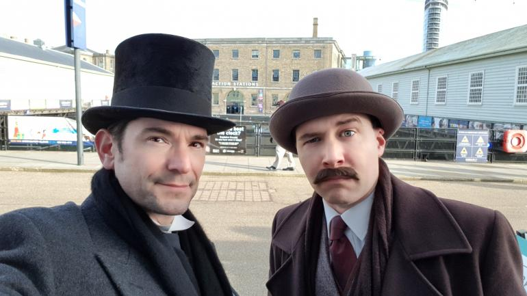 Sherlock Holmes and Festival of Christmas